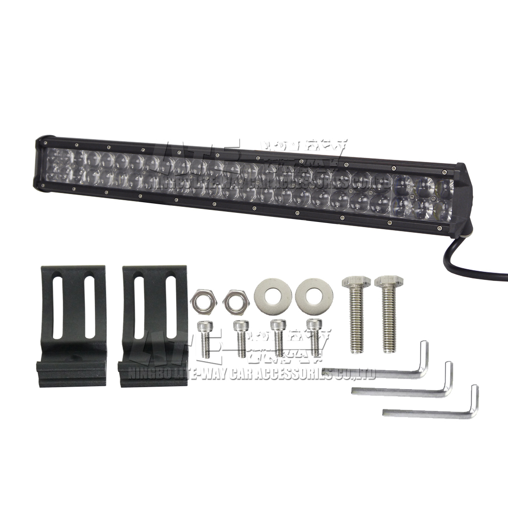 osram 20 inch 210w led light bar car led driving offroad