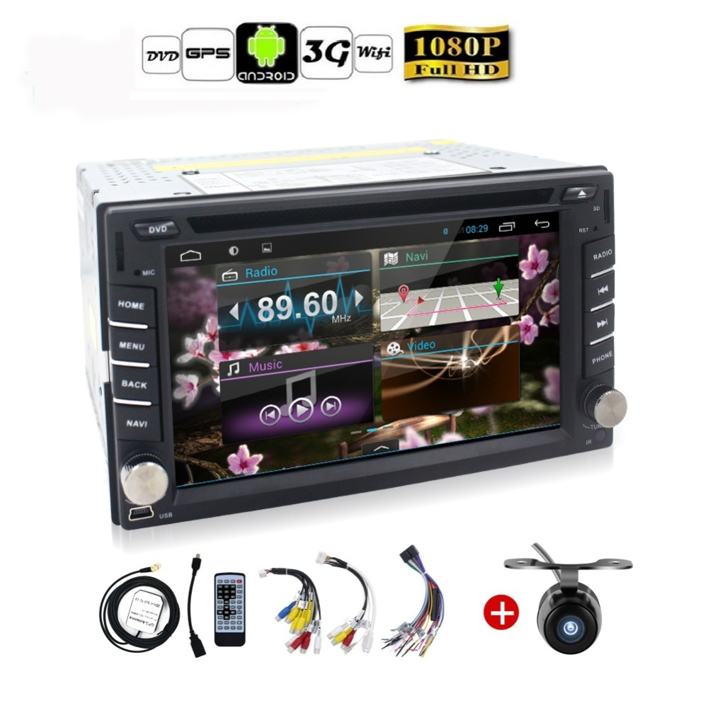 universele 2 din android 4 2 auto dvd speler gps wifi. Black Bedroom Furniture Sets. Home Design Ideas