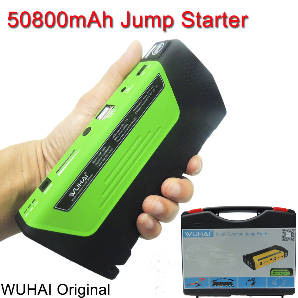 wuhai super car jump starter vehicle auto engine booster. Black Bedroom Furniture Sets. Home Design Ideas
